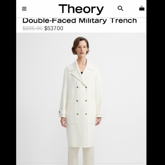 Theory Double-Faced Military Trench